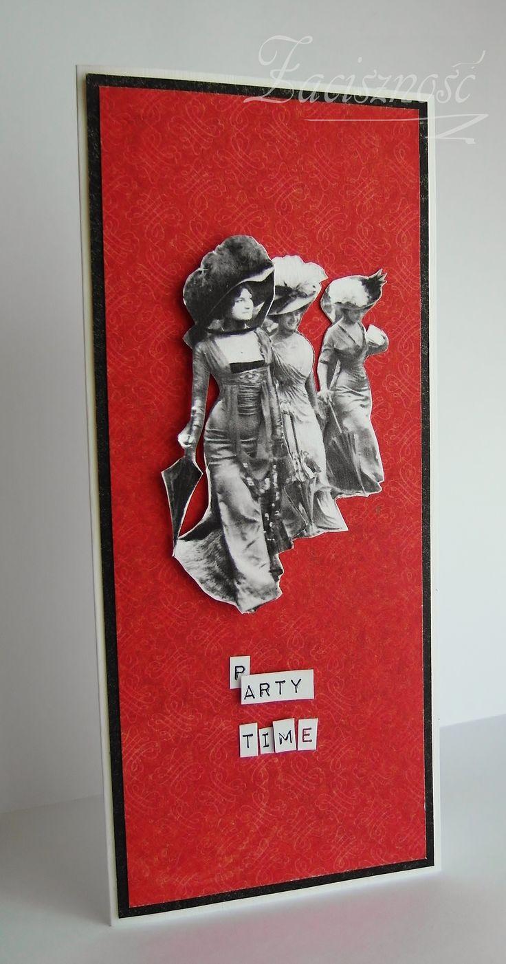 Ręcznie robiona kartka/ Handmade card