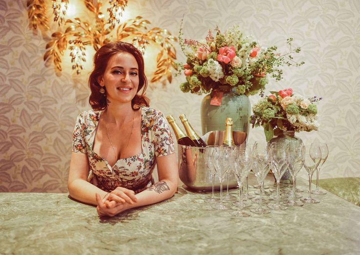 Tellerröcke, Spitzenblusen, figurbetonte Korsagen: Die Mode von Lena Hoschek bekam ein neues Zuhause im ersten Bezirk.
