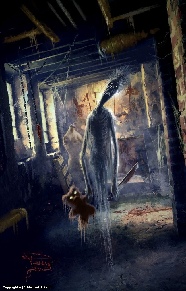 The Thing In The Basement145 Best Horror Art Images On Pinterest