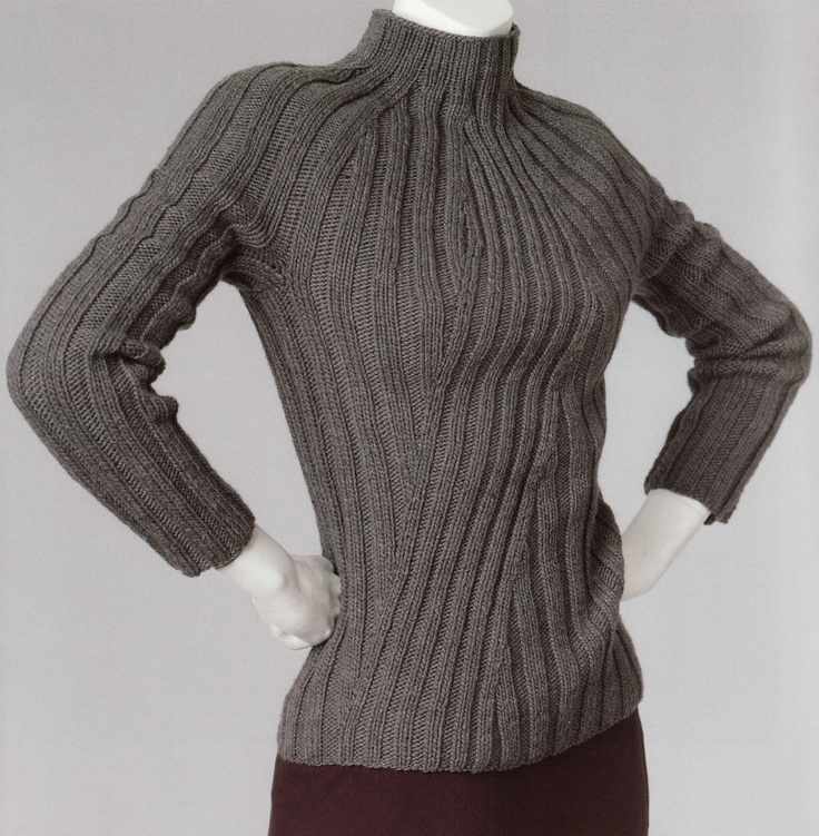 PATTERNFISH - Ribbed Sweater