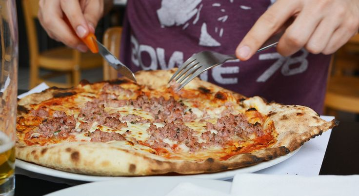 Wien: Pizzeria Disco Volante in 1060 Wien. Salsiccia al finochietto   http://www.mitmilch.at/pixi