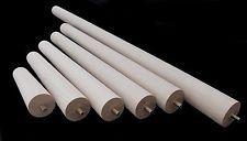 Set of 4 TAPERED BEECH LEGS / FEET Ø45mm - Ø30mm & M8 Bolt Table Leg Stool Foot