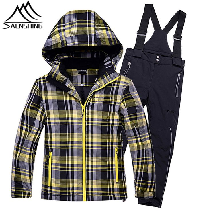 Winter Ski Jacket Pants Kids Ski Suit for Boys Girls Waterproof Breathable Snowboarding Snow Suits Children Outdoor Sports Suits