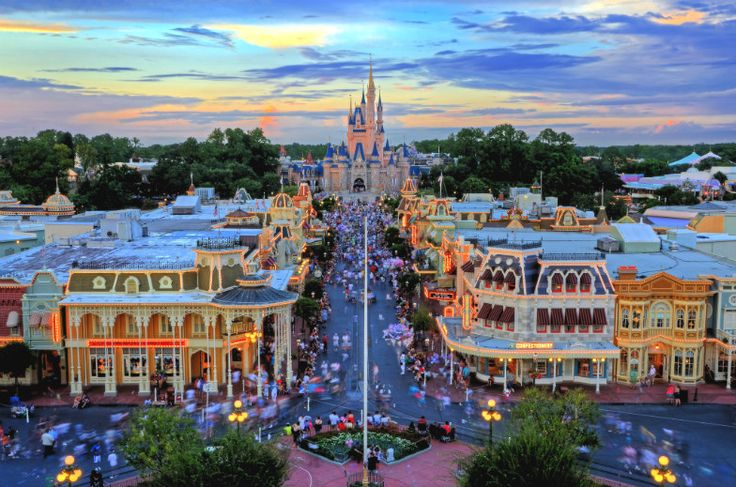 10 Tips For Disney World First Timers Magic Kingdom WDW Sunset