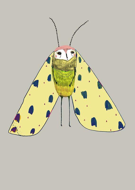 P Moth Decorator 426 best images about ...