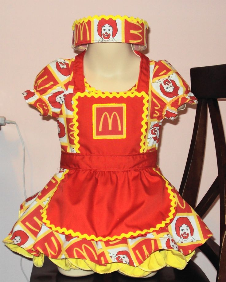 McDonalds Casual Wear Pageant OOC