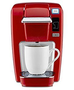 Amazon.com: Keurig K15 Single Serve Compact K-Cup Pod Coffee Maker, Chili Red: Kitchen & Dining