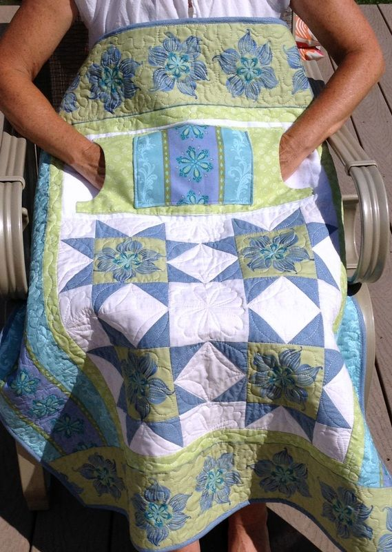 "Find handmade wheelchair lap quilts from Carolyn's Homesewn in NH. Our signature ""lovie lap quilts"" feature pockets for extra warmth and storage. Click to shop today!"