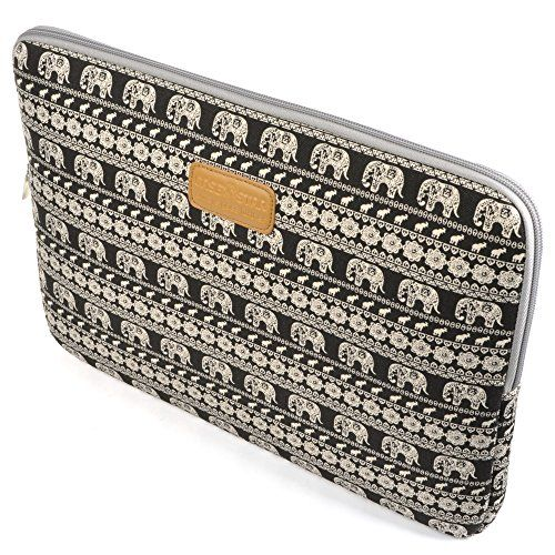 Case Star R Bohemian Style Canvas Fabric Inch Laptop Notebook Ultrabook Sleeve Bag Zipper For Apple Macbook Pro Retina Air 13 And Most