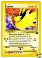 Pokemon Legendary Birds Zapdos Promo Card #23