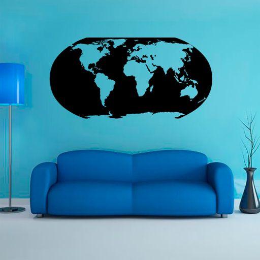 14 best Vinilos baratos de mapas images on Pinterest Maps World