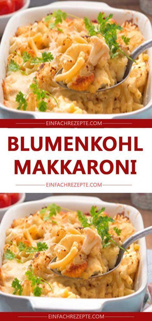 Macaroni au chou-fleur 😍 😍   – Kochen