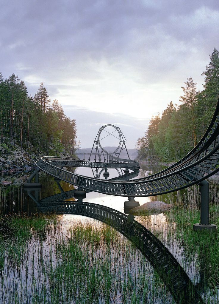 Splashes of Inspiration.  Can this be a roller coaster?
