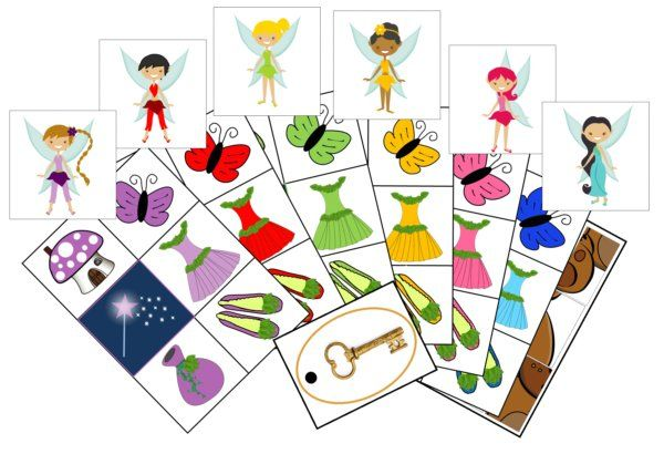 fairy scavenger I love it!  Must find all the same color accesories for your fairy!
