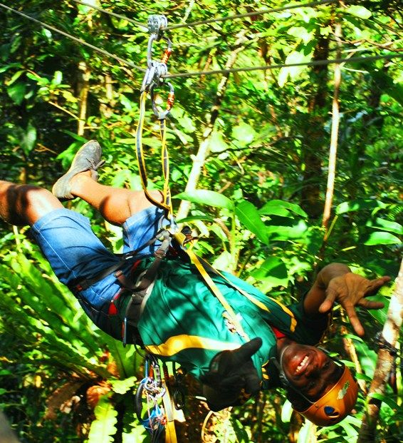 Zip Lining Adventures and Tours in the Fiji Rainforest- An Awesome Flying Fox!