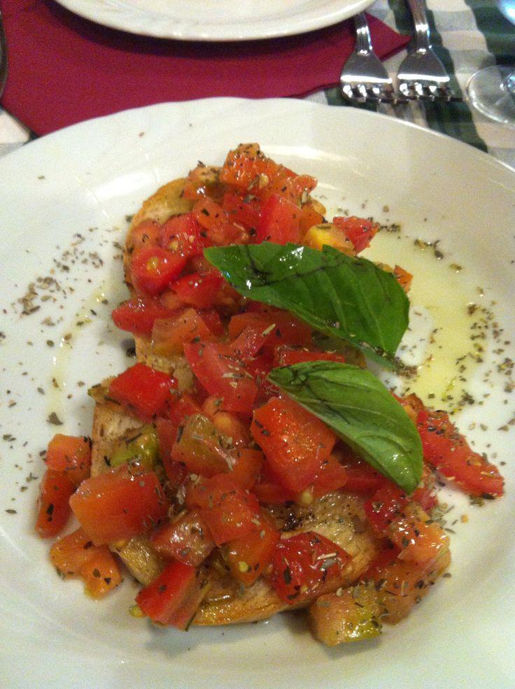 Bruschetta  napoletana