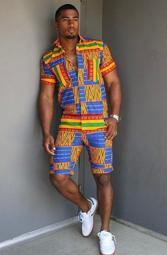 Coolest Ankara Styles For Men To Spice Up 2018   Ankara Styles For Men    Pinterest   African Fashion, Mens fashion and African men fashion 6c06d69577