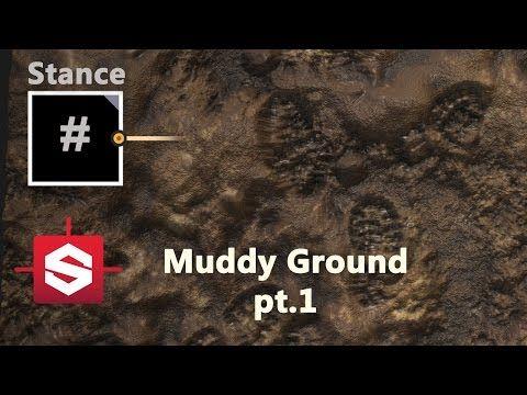 Muddy Ground Part 1 - Substance Designer Material Breakdown - YouTube