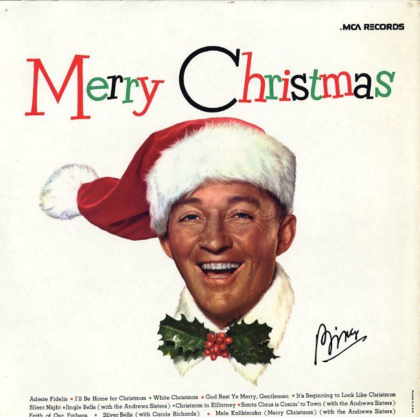 Bing crosby white christmas my vinyl pinterest for Who wrote the song white christmas