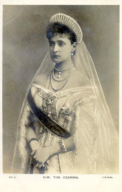 The Czarina Alexandra Fjodorowna