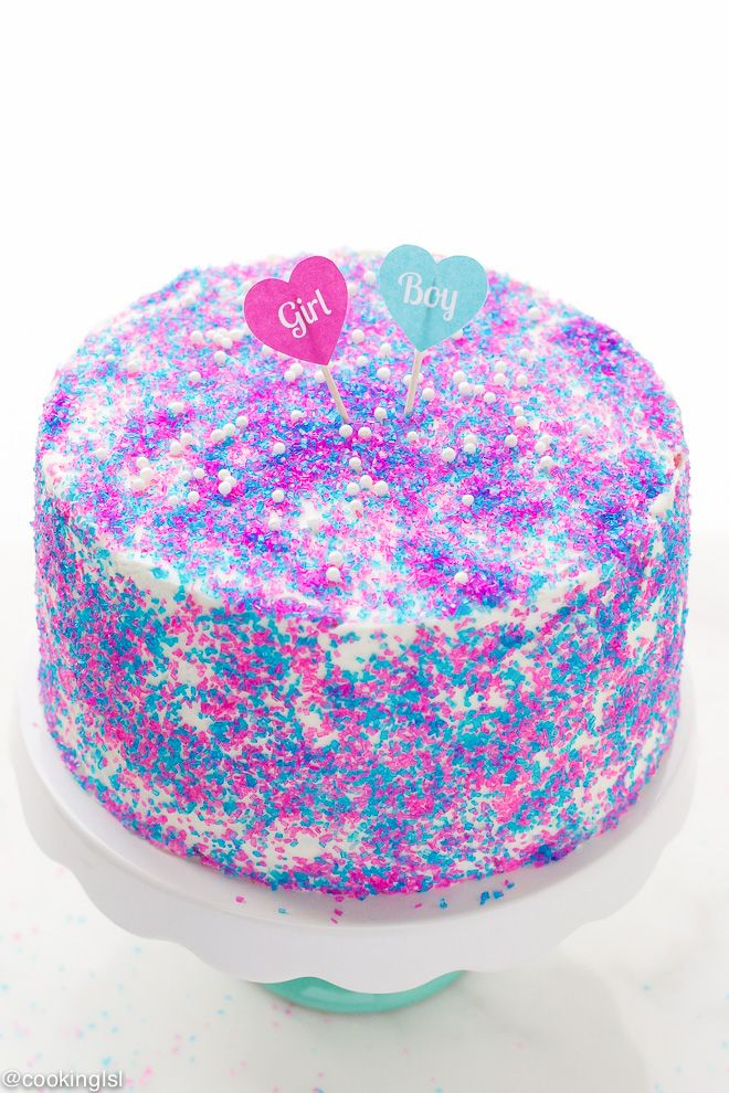Gender Reveal Surprise Cake Recipe – fun and easy to make, this cake is perfect for a gender reveal party or a baby shower. Layers of vanilla cake with mascarpone cream cheese buttercream and lots of colorful candy. I have some very exciting news for you today guys! As you might have guessed – we...Read More »