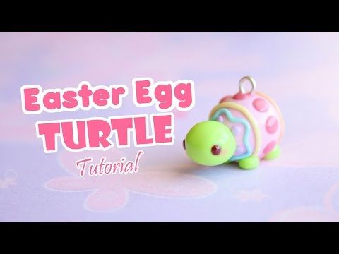 Easter Egg Turtle │ Polymer Clay Tutorial - YouTube