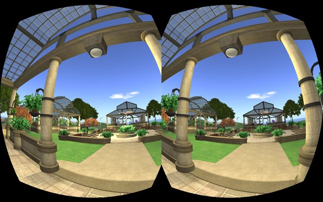 Visión estereoscópica en Mundos Virtuales. Nuevos visores