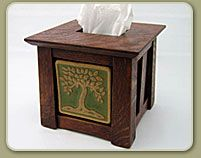 Why have a plain kleenex box when you could make it beautiful?