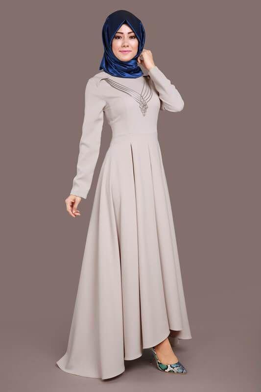 f5d5c6b5e2cbb En Güzel Modaselvim Tesettür Elbise Modelleri | Tesettür in 2019 ...