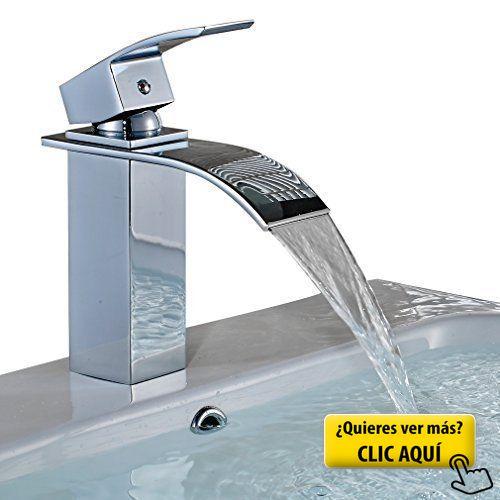 Auralum Modern Elegant Bronze Chrome Bathroom Basin Faucet Single Handle  Single Hole With Inch Hose (Type C) Auralum
