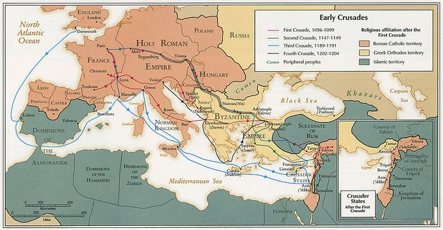History of the Crusades: The Battle of Tours, 732. Islam Halted