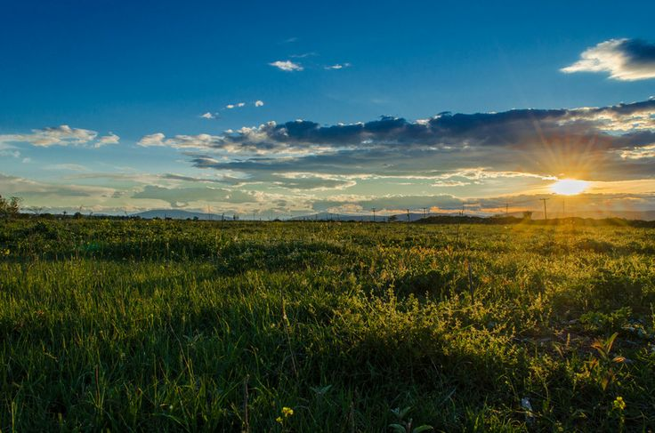 spring sunset by Denys Tsutsayev on 500px