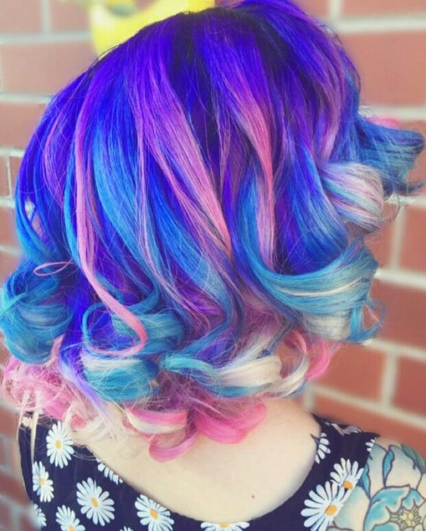 Cotton Candy Blue Hair: 2435 Best Images About Hair & Make-up On Pinterest