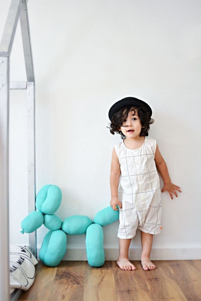 DIY GIANT BALLOON STUFFED ANIMAL