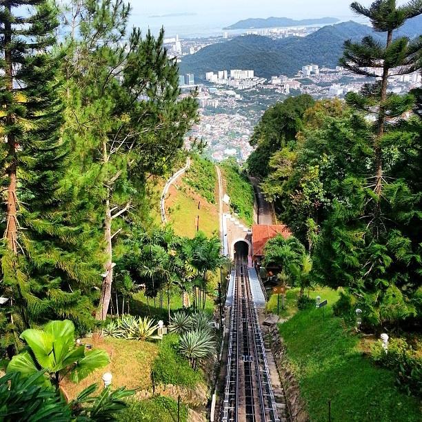 Penang Hill, Penang, Malaysia @Shay Mitchell