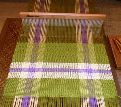 Backstrap weaving with a rigid heddle - Forums - Weaving Today