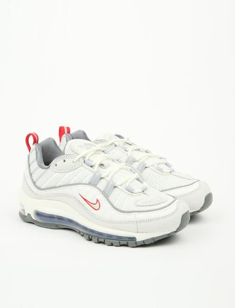separation shoes 11e05 1dac7 Nike Air Max  98 - Summit White Metallic Silver