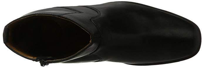 clarks men's tilden zip chelsea boots