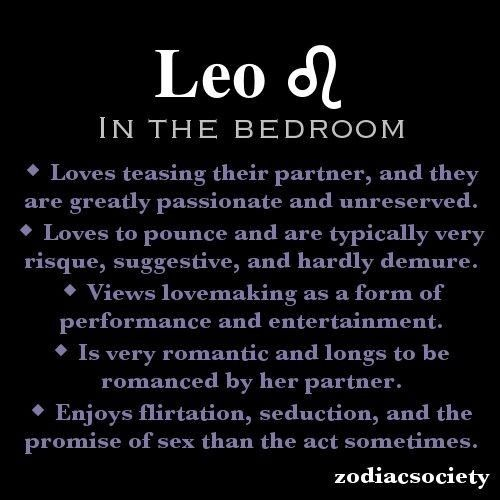 Sex with a leo man