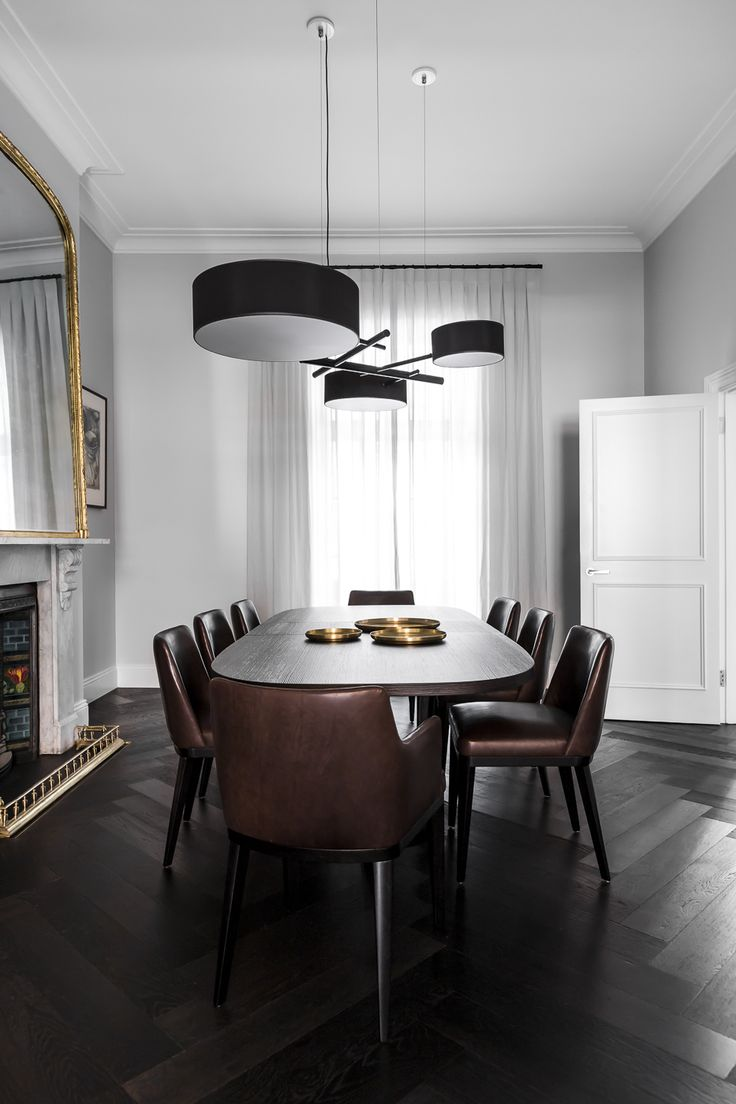 Alexandra Kidd Design Victoria Street Project Dining Room