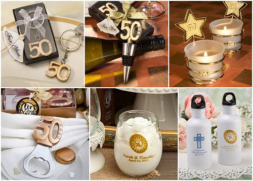50th Wedding Anniversary Gift Ideas For Guests : 50th wedding anniversary party gifts gold weddings wedding gifts guest ...