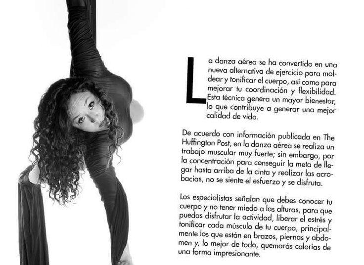 Interior de revista arabesca. Danza aérea