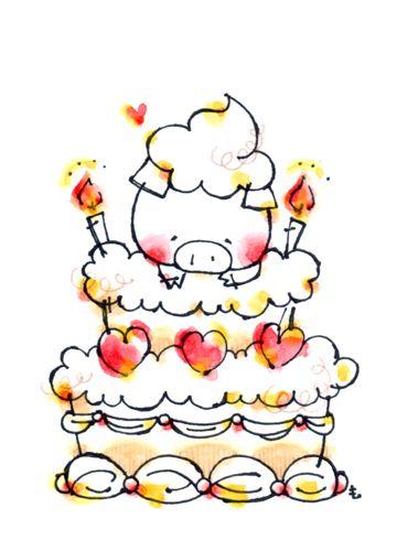 ケーキぶたちゃん