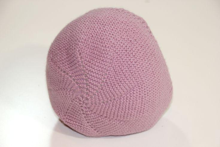 DIY Tejer: Cómo hacer capotas de punto para bebés   Aprender manualidades es facilisimo.com