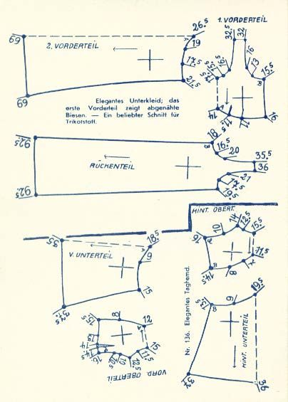 Lutterloh 1938 Book Of Cards - Models Diagram Card 36