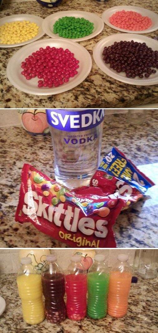 Skittle Shots