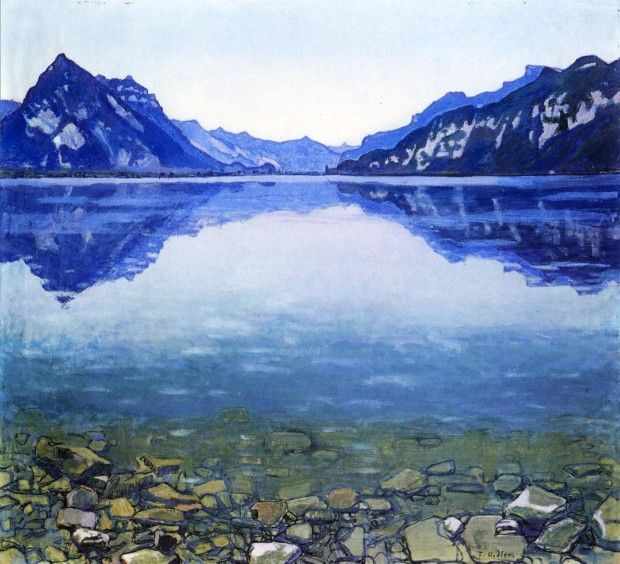 hodler-lake-thun-landscape-date-unknown