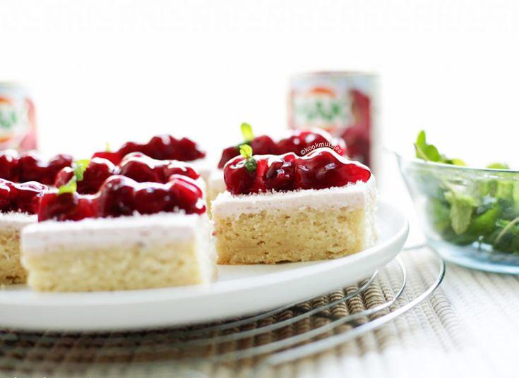Kersencake cheesecake