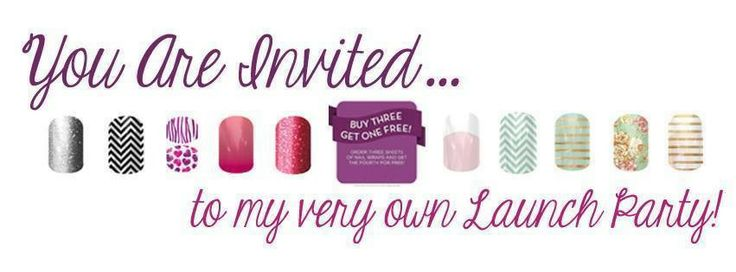 foto de I am launching my first Jamberry Party I am handing out
