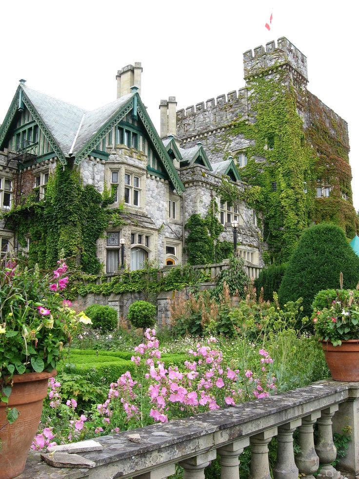 Hatley Castle on #VancouverIsland, #Canada. Check best deals on http://www.islanddailydeals.com/